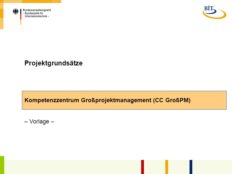 Kompetenzzentrum Großprojektmanagement (CC GroßPM)