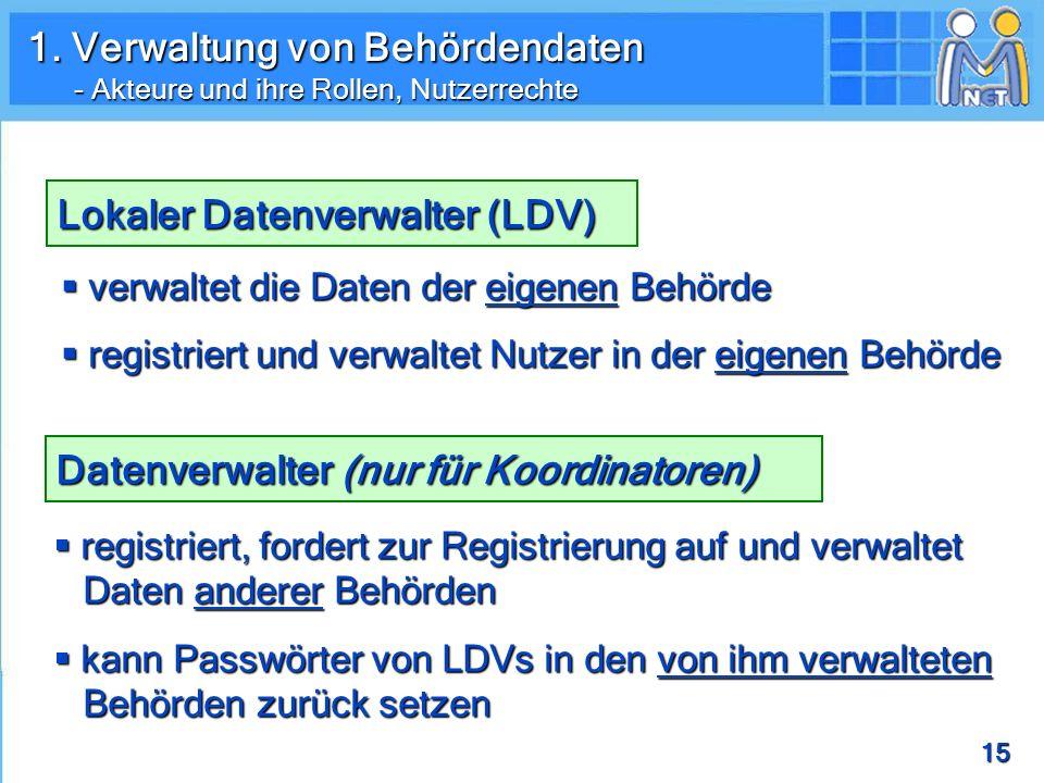 Lokaler Datenverwalter (LDV)