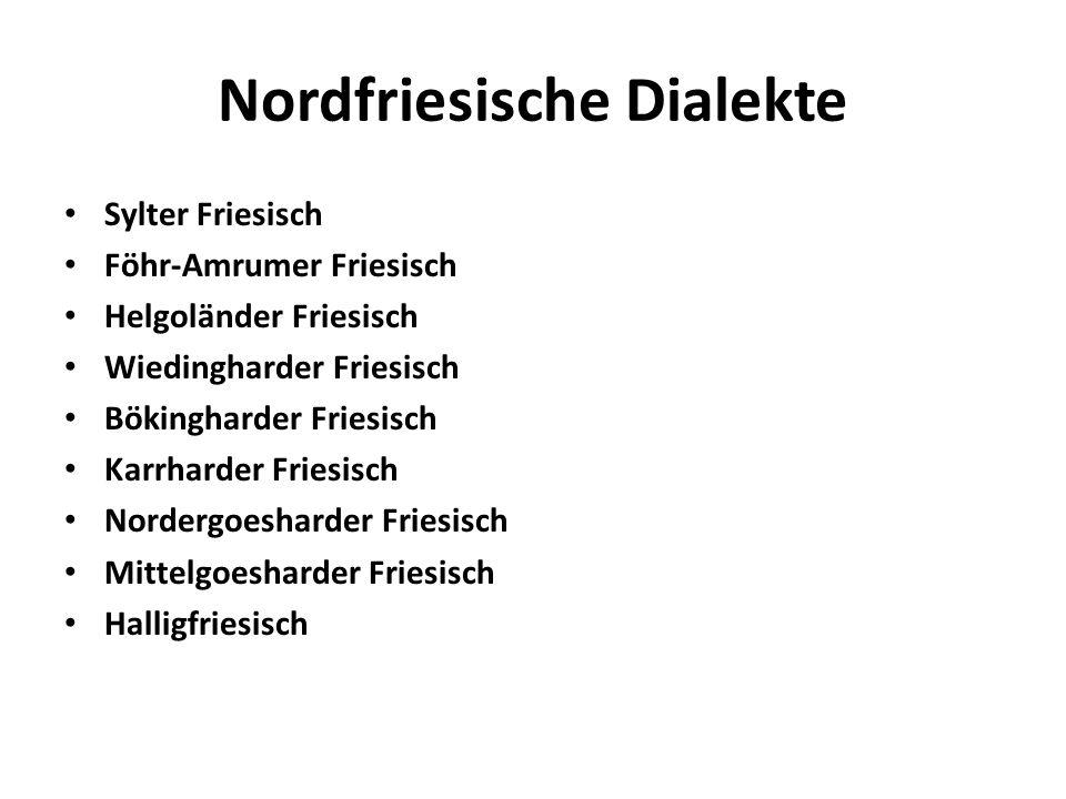 Nordfriesische Dialekte