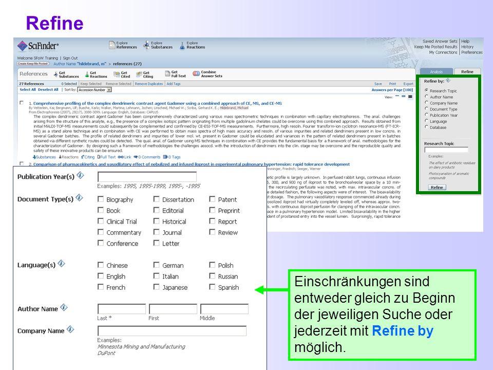 SciFinder-Webversion