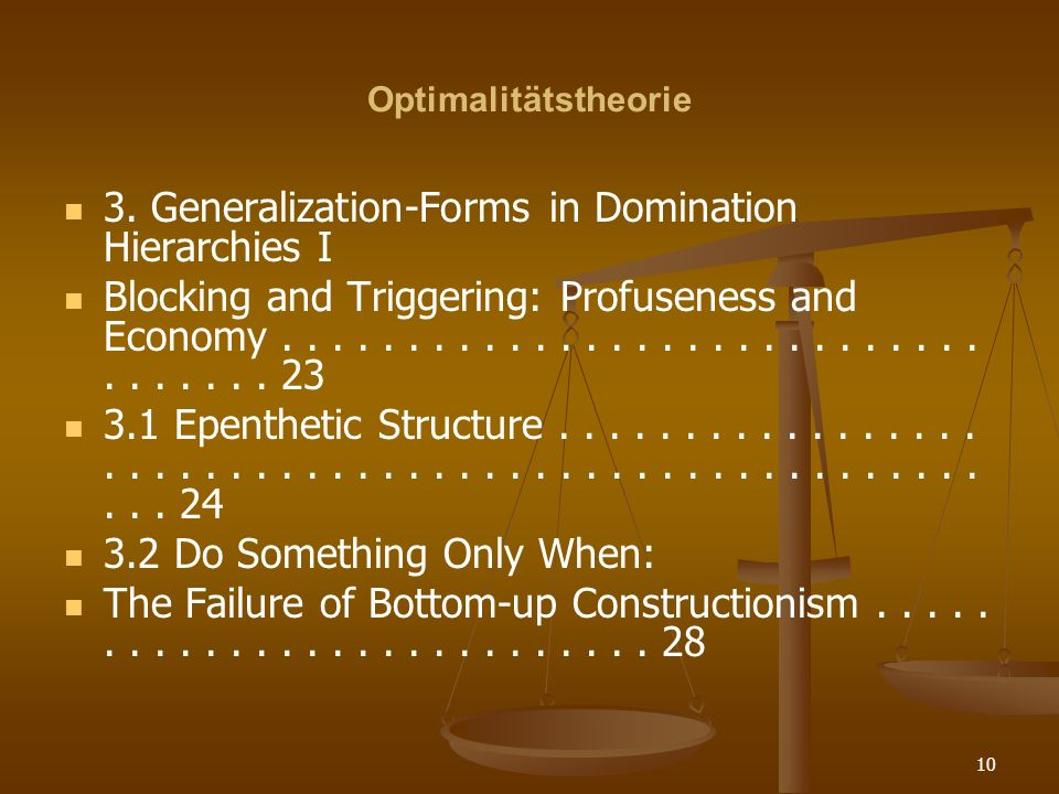 3. Generalization-Forms in Domination Hierarchies I