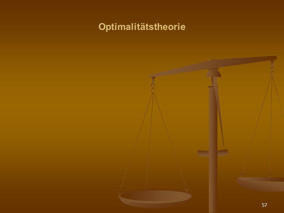 Optimalitätstheorie