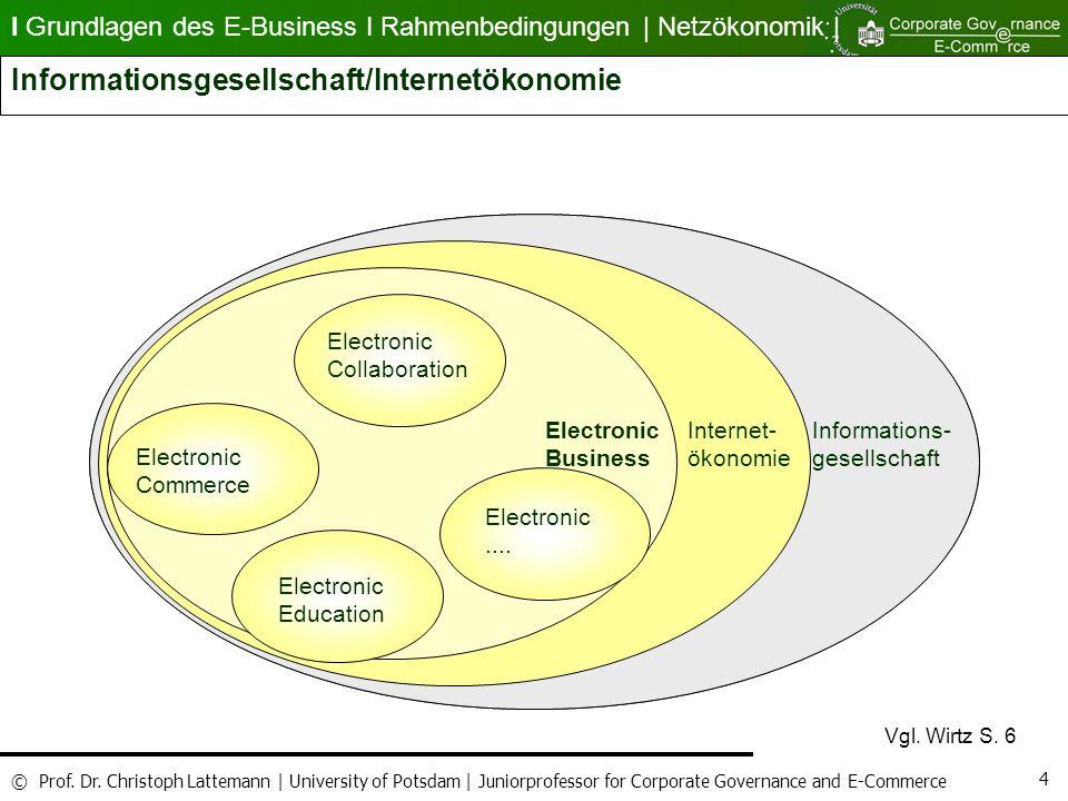 Informationsgesellschaft/Internetökonomie