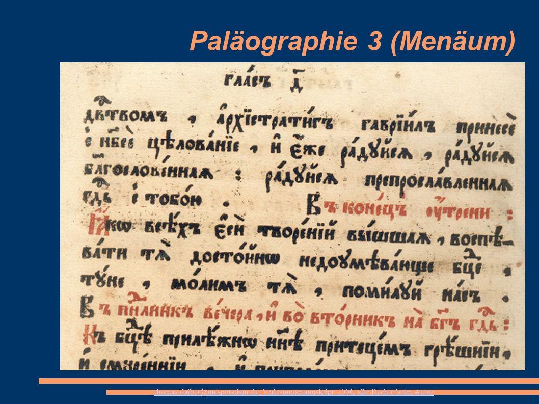 Paläographie 3 (Menäum)