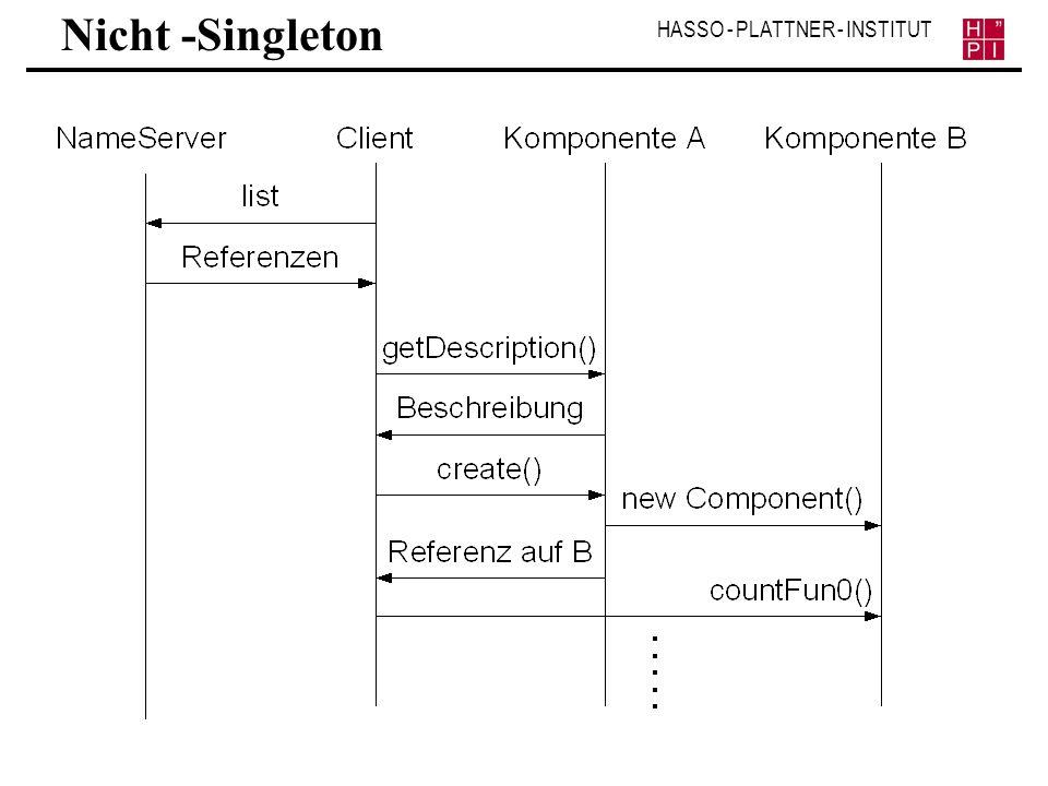 Nicht -Singleton