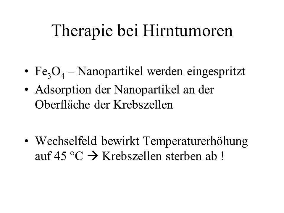 Therapie bei Hirntumoren