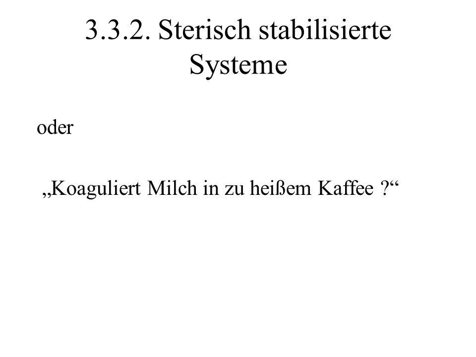 3.3.2. Sterisch stabilisierte Systeme