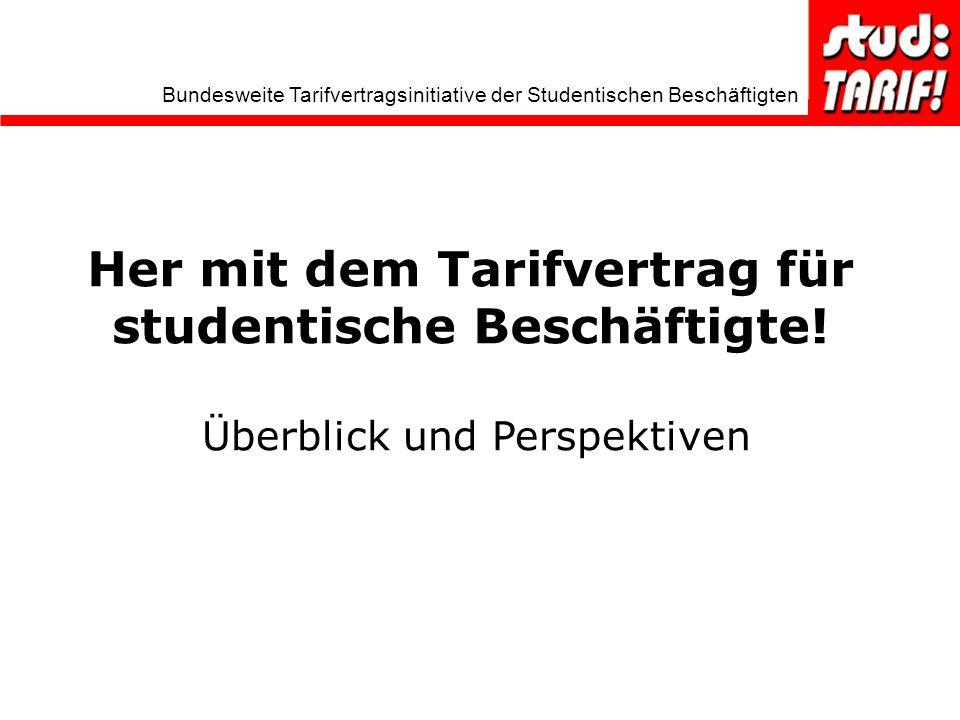 Her mit dem Tarifvertrag für studentische Beschäftigte!