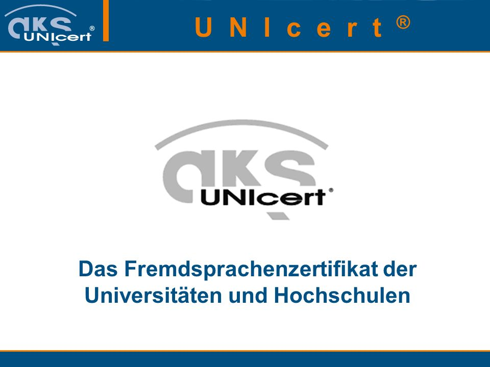 Das Fremdsprachenzertifikat der Universitäten und Hochschulen