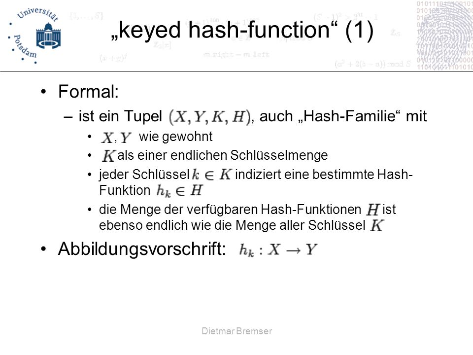 """keyed hash-function (1)"