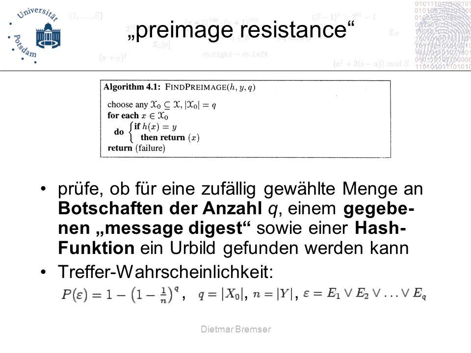 """preimage resistance"