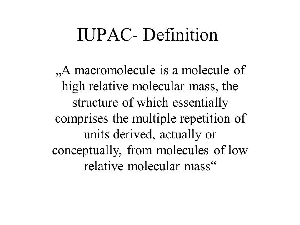 IUPAC- Definition