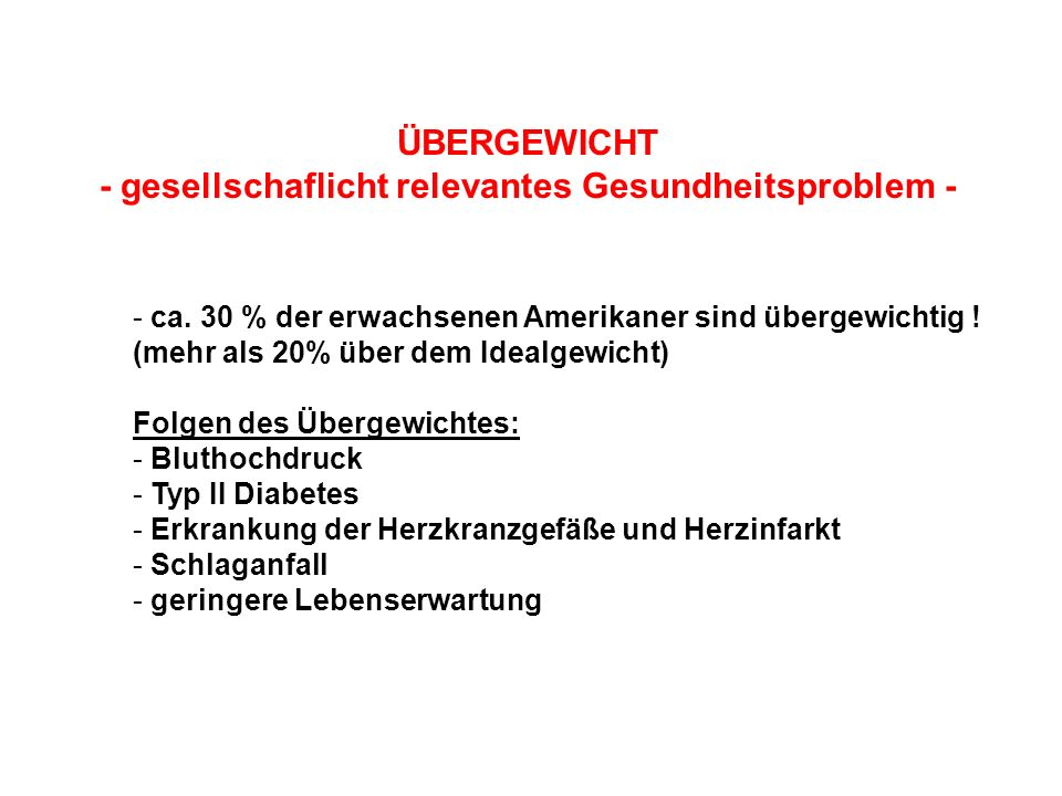- gesellschaflicht relevantes Gesundheitsproblem -