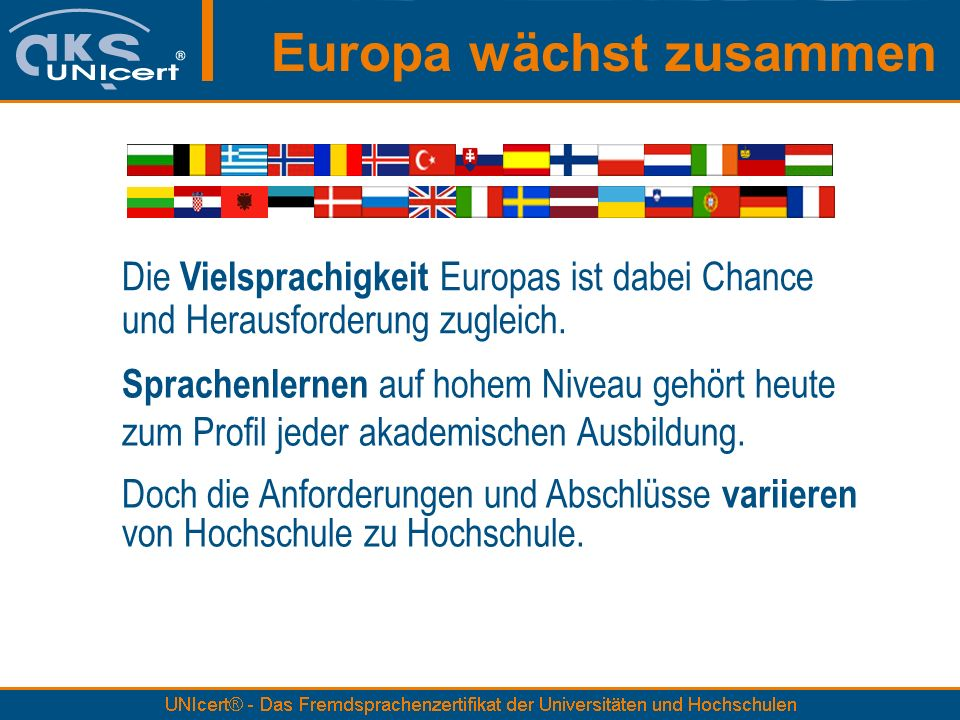Europa wächst zusammen