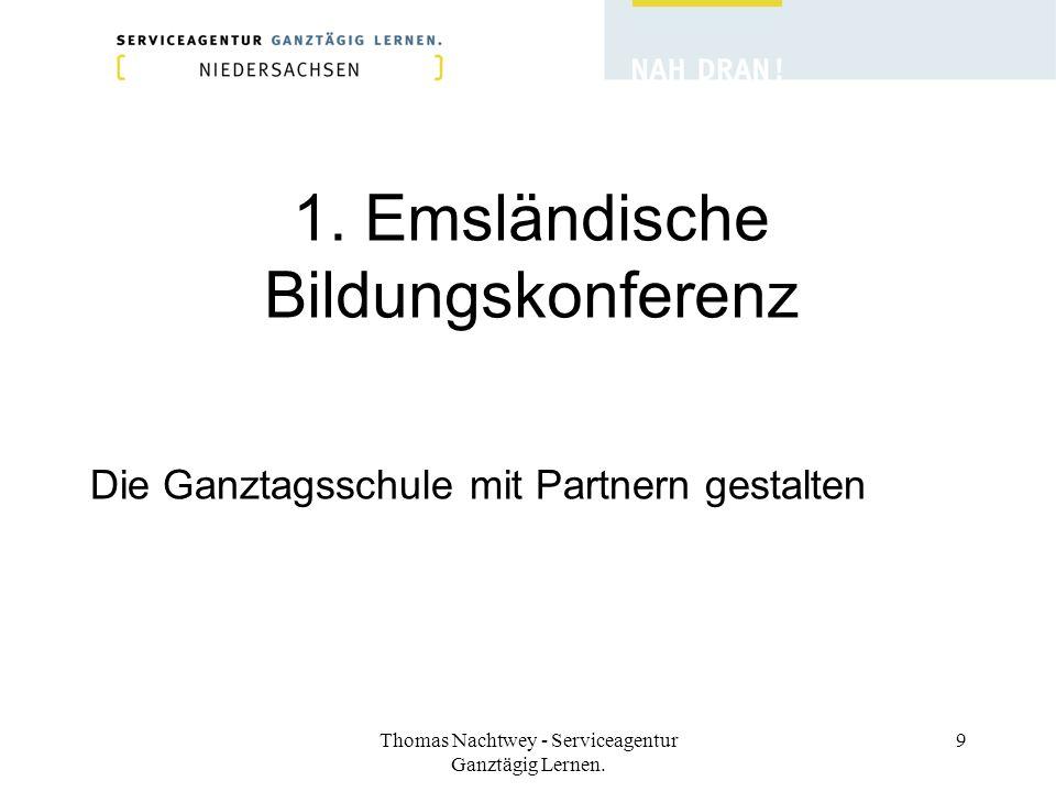 1. Emsländische Bildungskonferenz