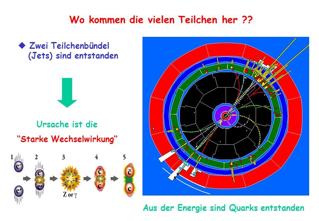 Wo kommen die vielen Teilchen her ''Starke Wechselwirkung''
