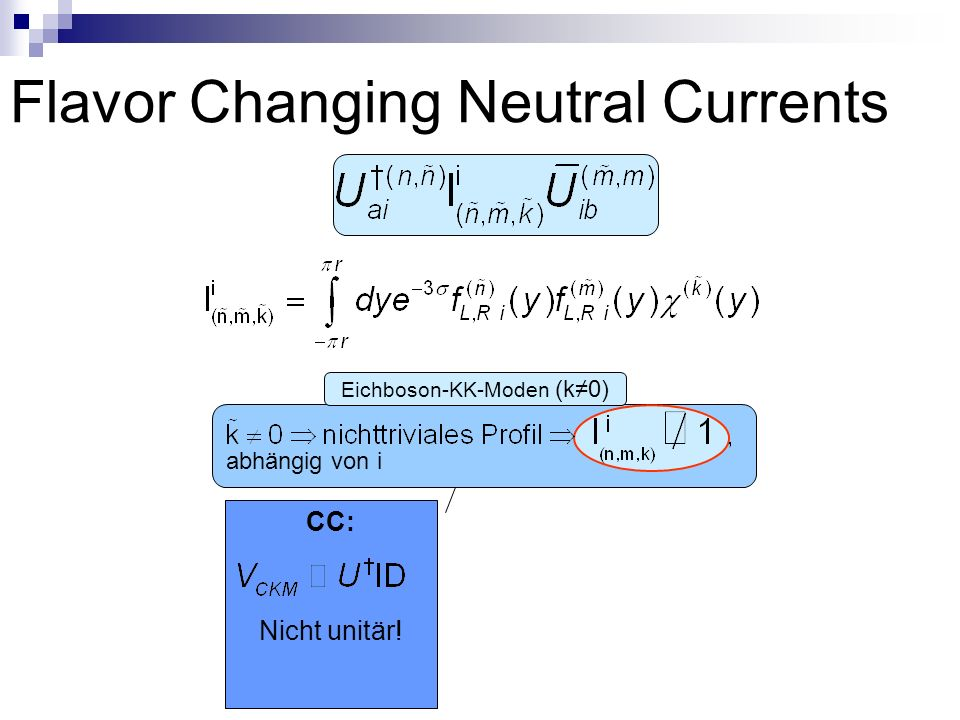 Flavor Changing Neutral Currents