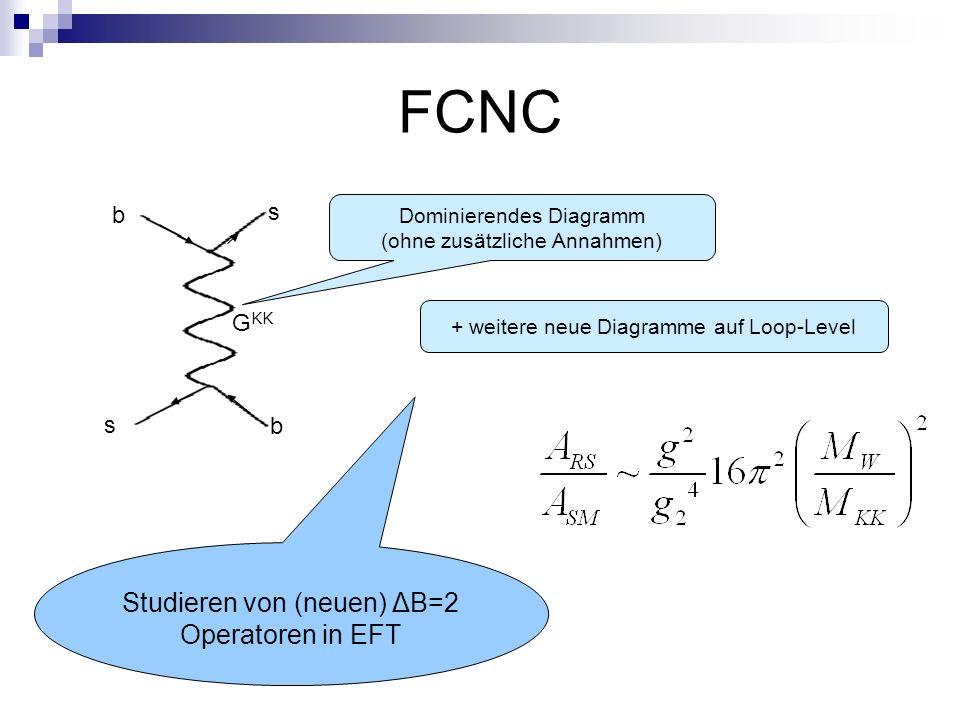 FCNC Studieren von (neuen) ΔB=2 Operatoren in EFT s b GKK