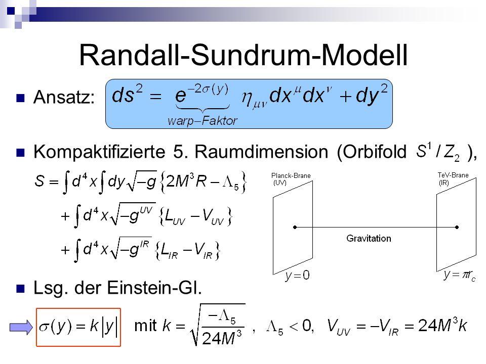 Randall-Sundrum-Modell