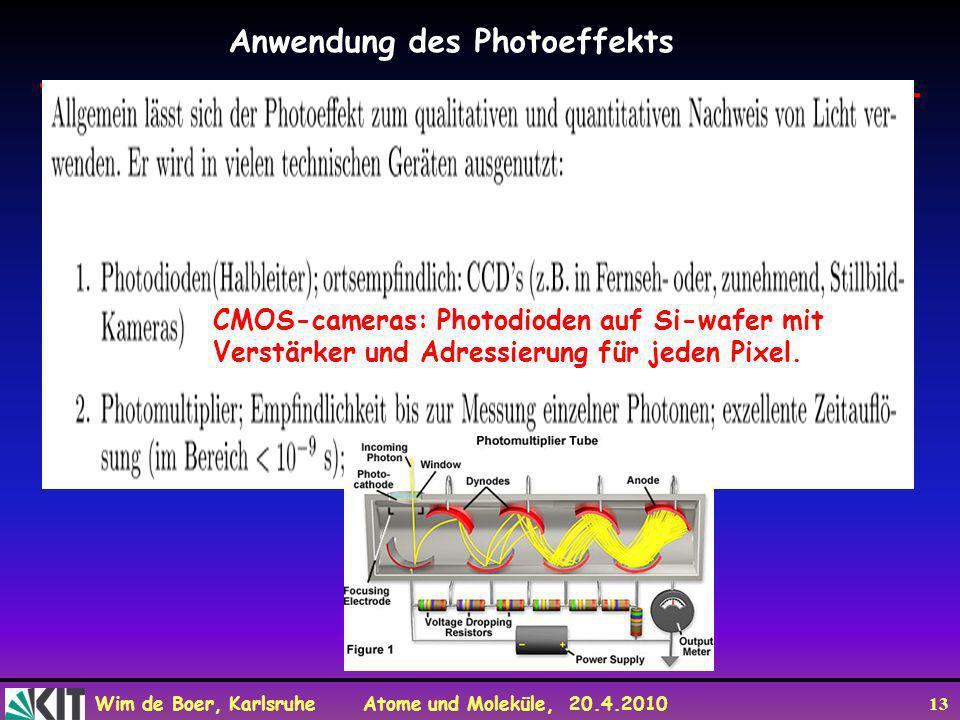Anwendung des Photoeffekts