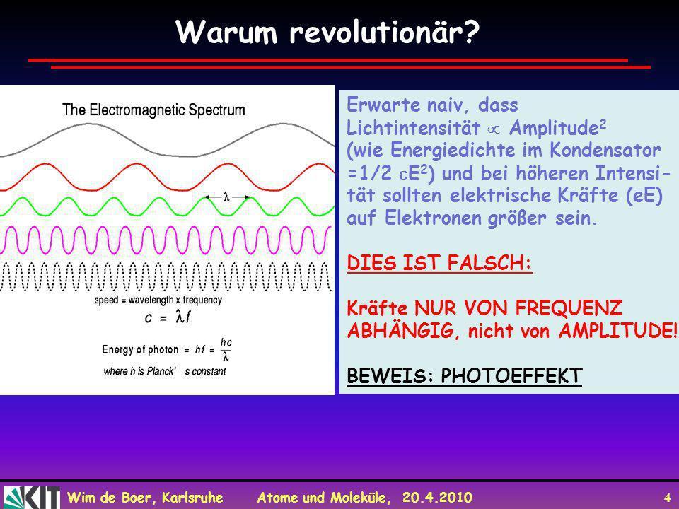 Warum revolutionär Erwarte naiv, dass Lichtintensität  Amplitude2