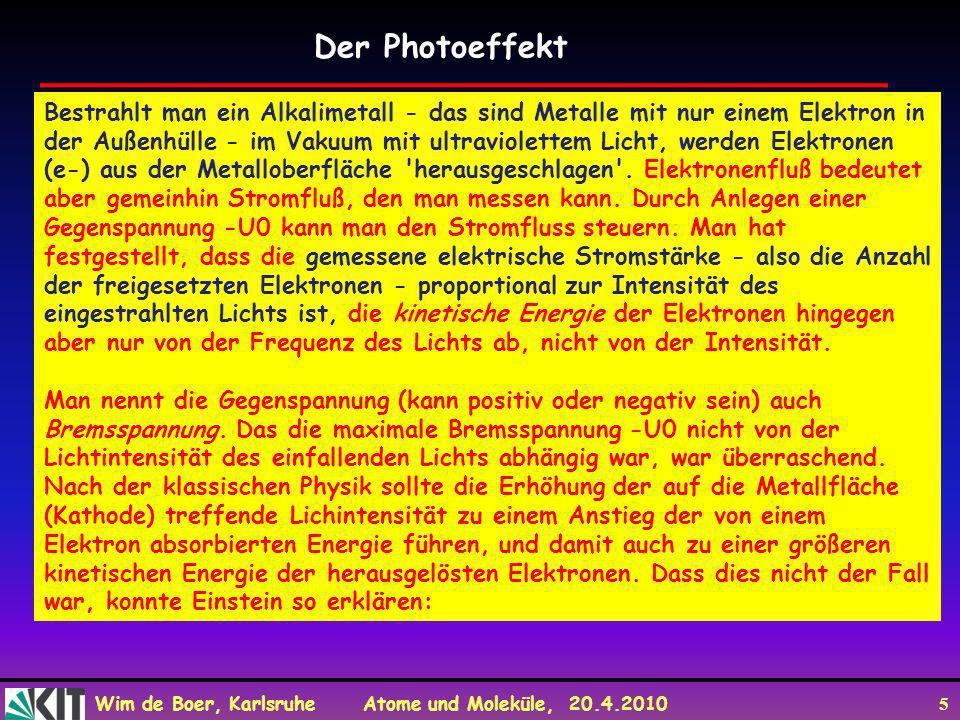 Der Photoeffekt