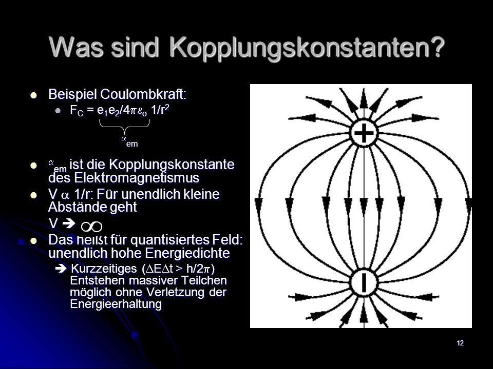 Was sind Kopplungskonstanten