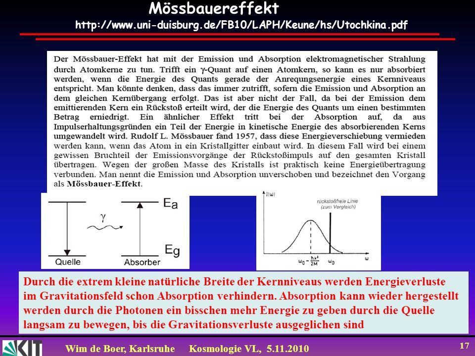 Mössbauereffekt http://www.uni-duisburg.de/FB10/LAPH/Keune/hs/Utochkina.pdf.