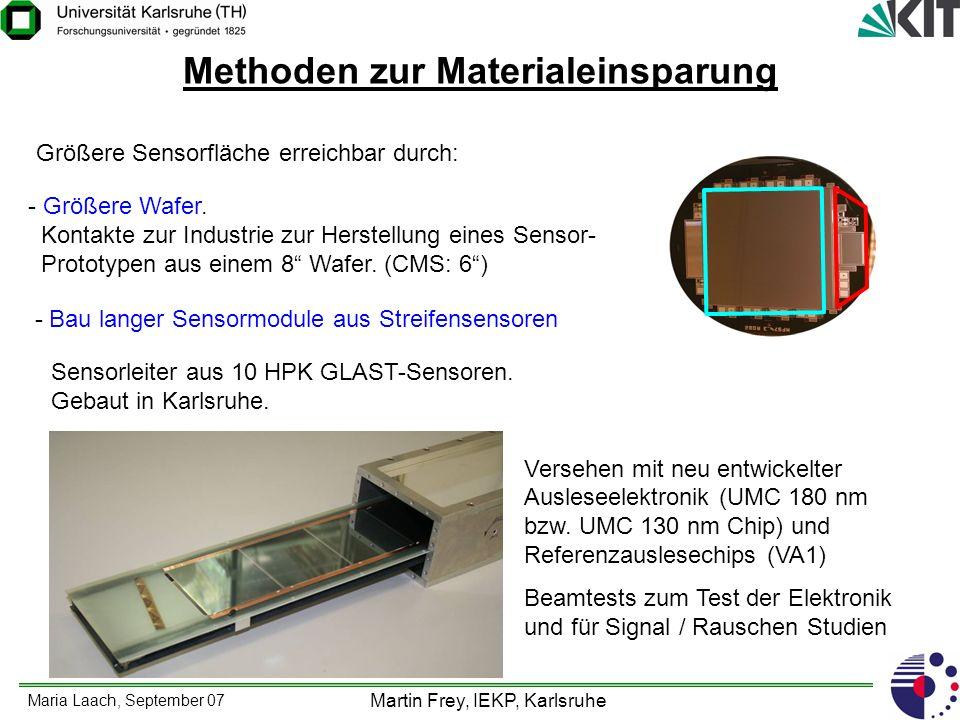 Methoden zur Materialeinsparung
