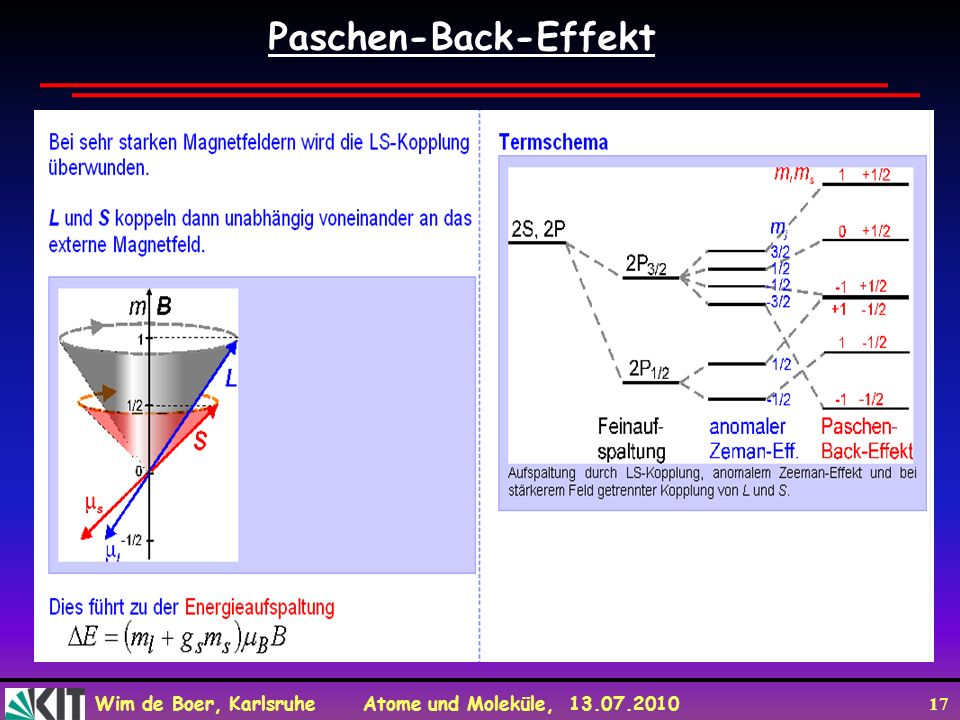 Paschen-Back-Effekt