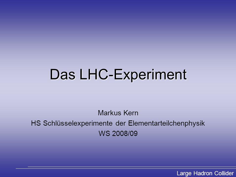 HS Schlüsselexperimente der Elementarteilchenphysik