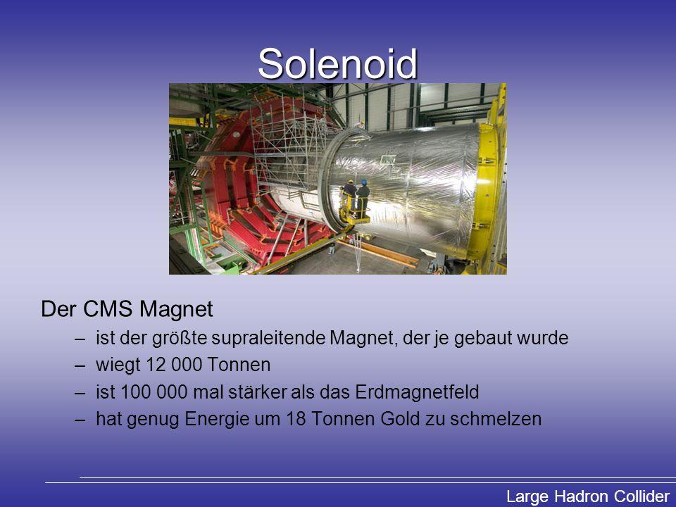 Solenoid Der CMS Magnet