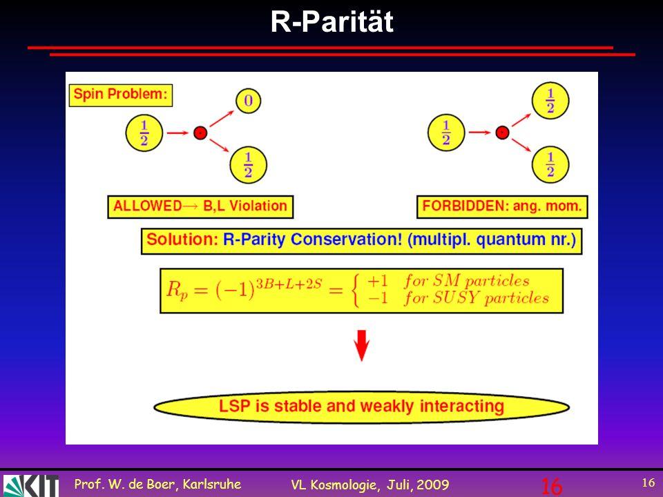 R-Parität 16