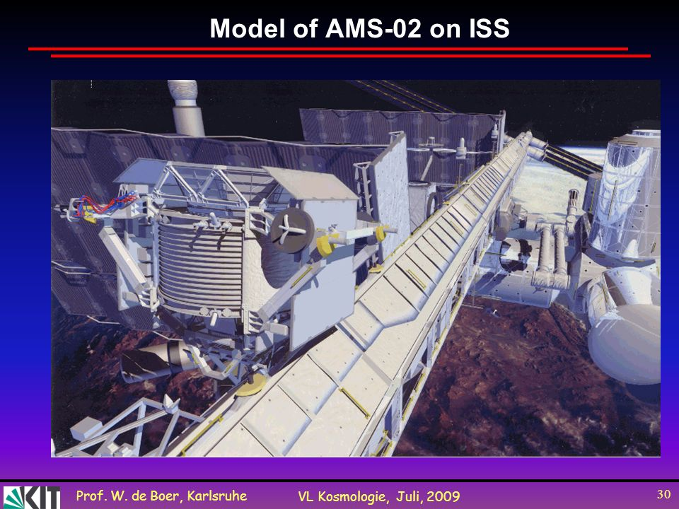 Model of AMS-02 on ISS