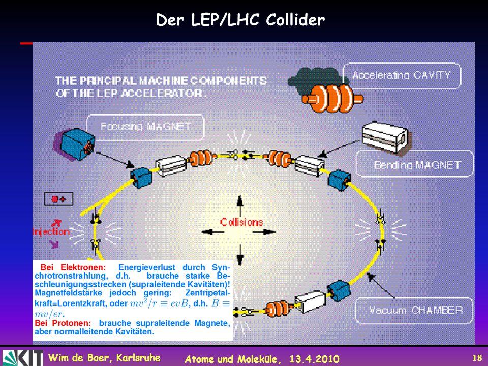 Der LEP/LHC Collider