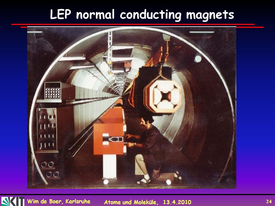LEP normal conducting magnets