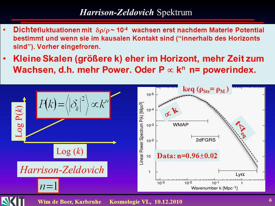 Harrison-Zeldovich Harrison-Zeldovich Spektrum