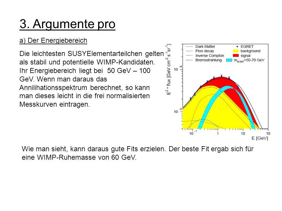 3. Argumente pro a) Der Energiebereich