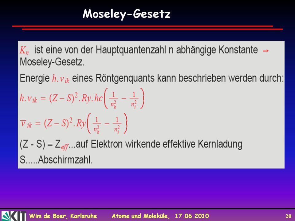 Moseley-Gesetz