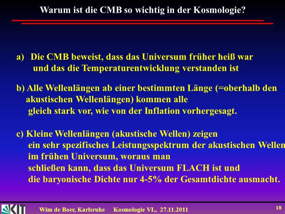 Warum ist die CMB so wichtig in der Kosmologie
