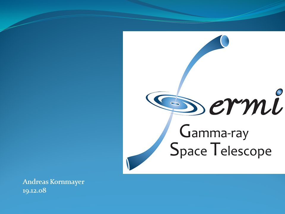 Gamma-Ray Space Telescope