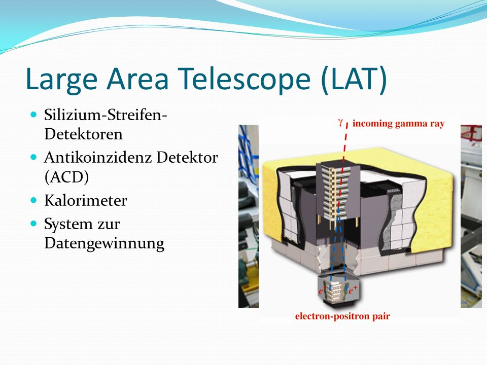 Large Area Telescope (LAT)