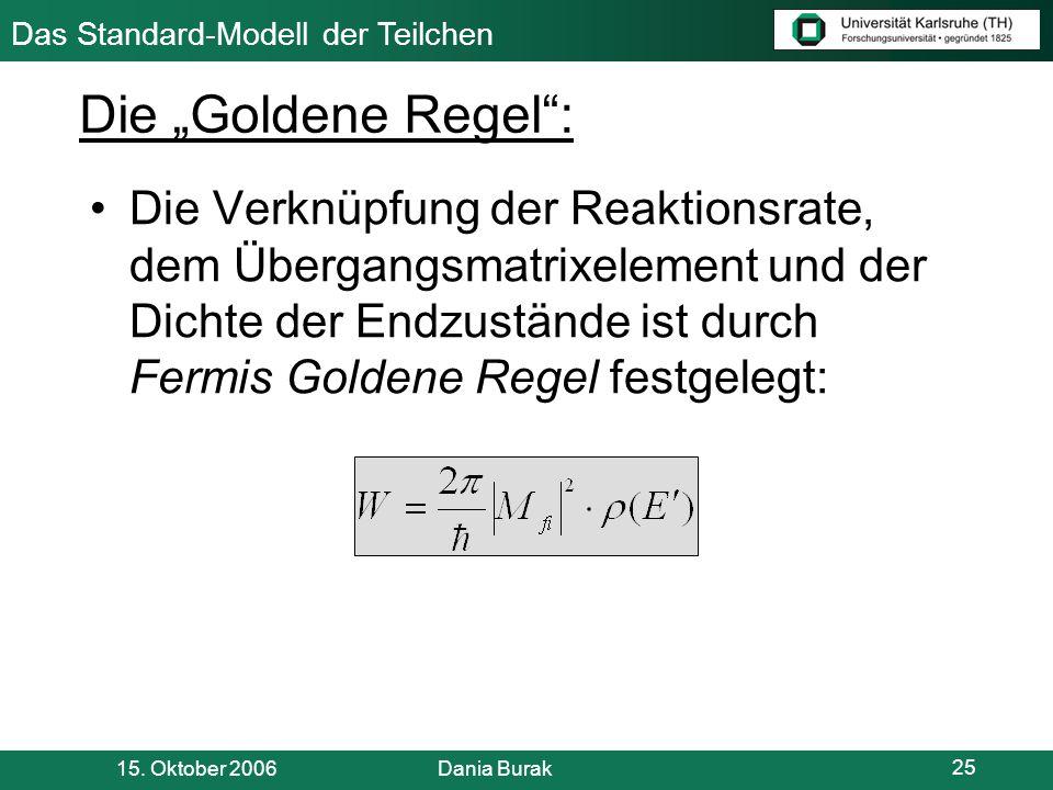 """Die """"Goldene Regel :"""
