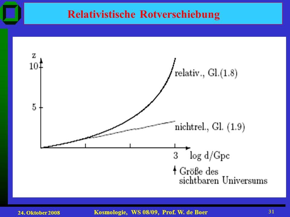 Relativistische Rotverschiebung