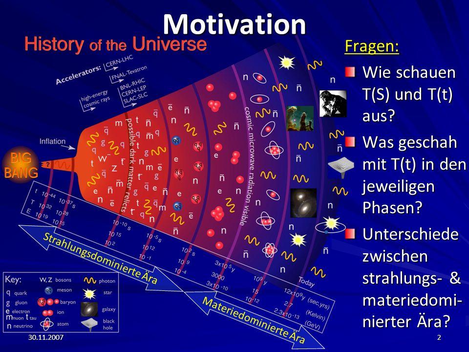 Motivation Fragen: Wie schauen T(S) und T(t) aus