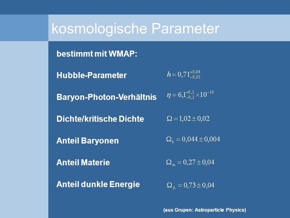 kosmologische Parameter