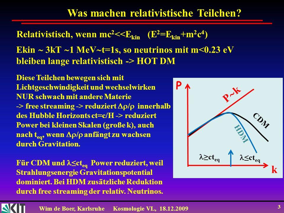 Was machen relativistische Teilchen