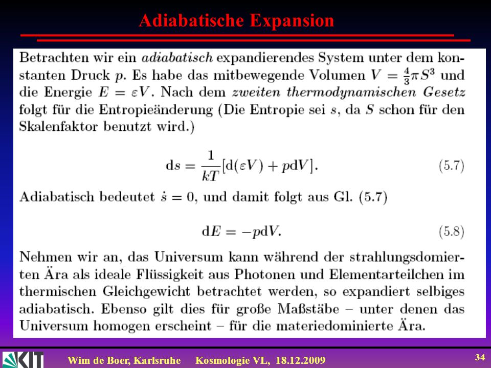 Adiabatische Expansion