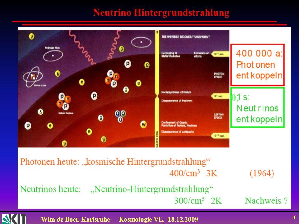 Neutrino Hintergrundstrahlung