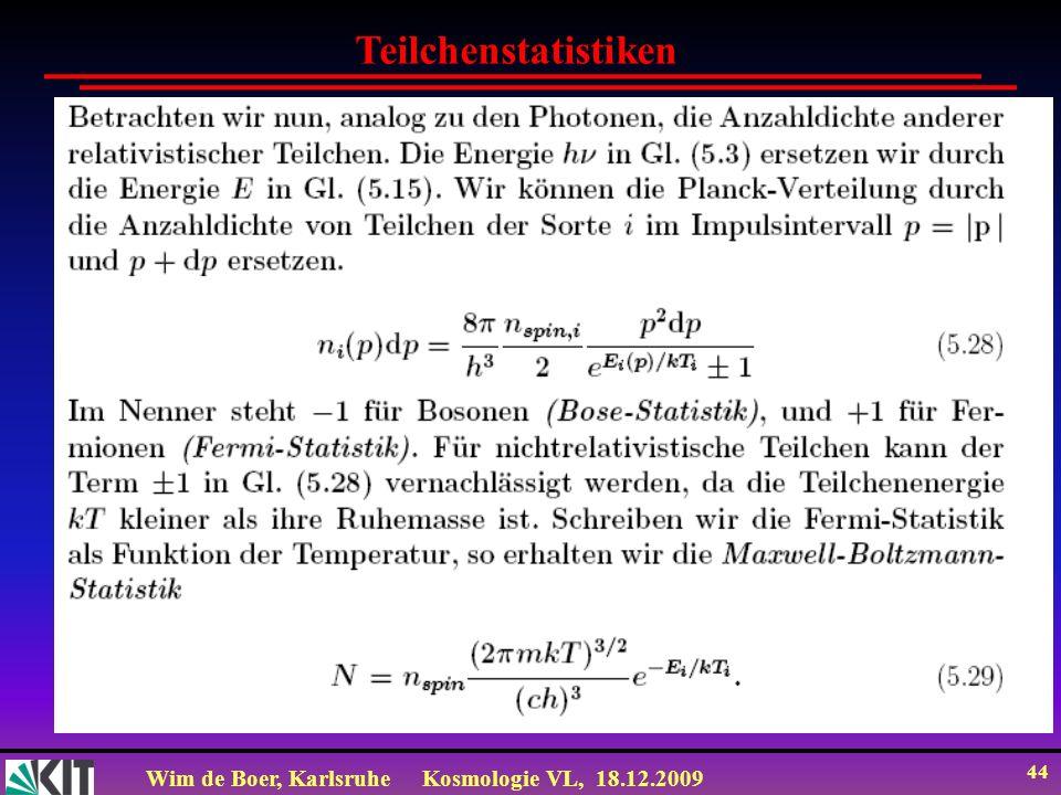 Teilchenstatistiken